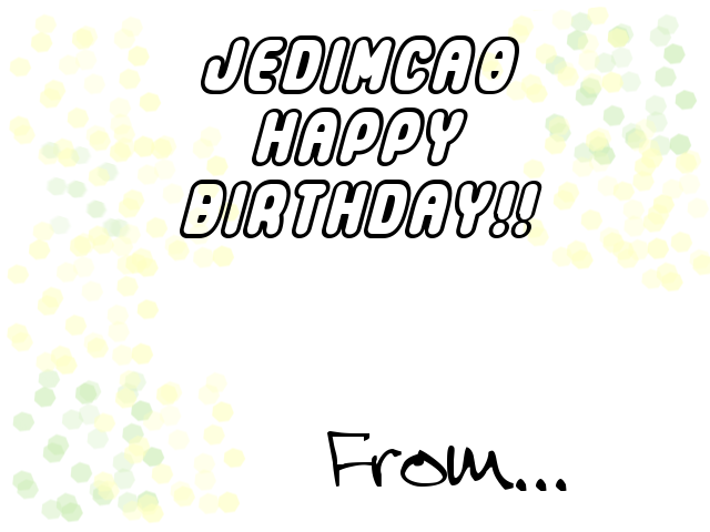 Jedimca0 2010 card bday