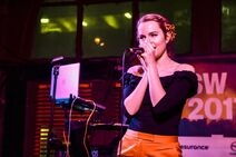 Bridgit at her first SXSW show (3)