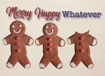 Merry Happy Whatever - logo