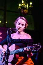 Bridgit at her first SXSW show (1)