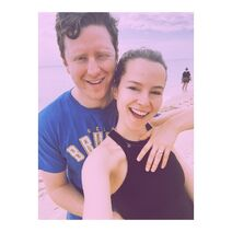 Bridgit Mendler with Griffin Cleverly - Instagram (2)