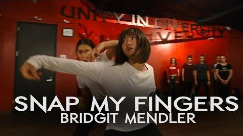 Bridgit Mendler - Snap My Fingers Crazy Dance Class