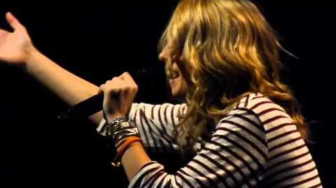 "Bridgit Mendler ""Ready or Not"" LIVE @ Best Buy Theater NYC 2013"