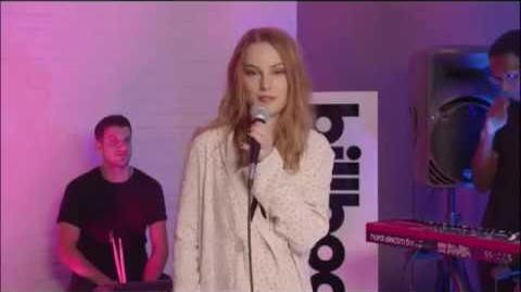 Bridgit Mendler - Snap My Fingers (Live at Billboard Studios)
