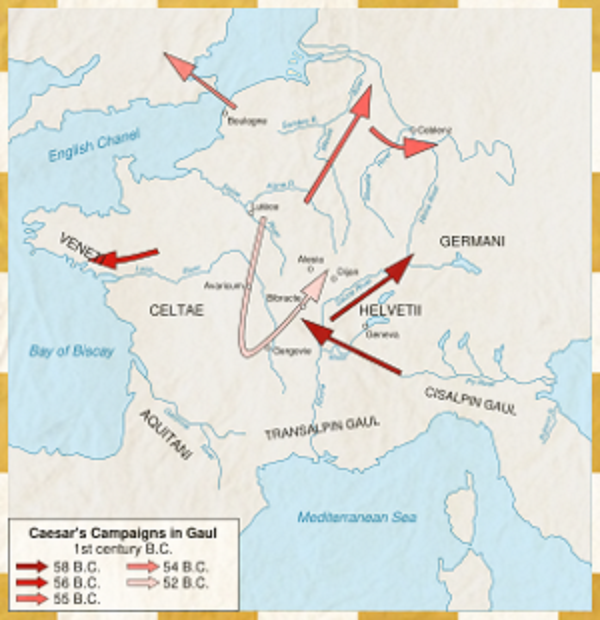 Gaul World Map.Image Caesar In Gaul 0 Png Brief History Of The World Wiki