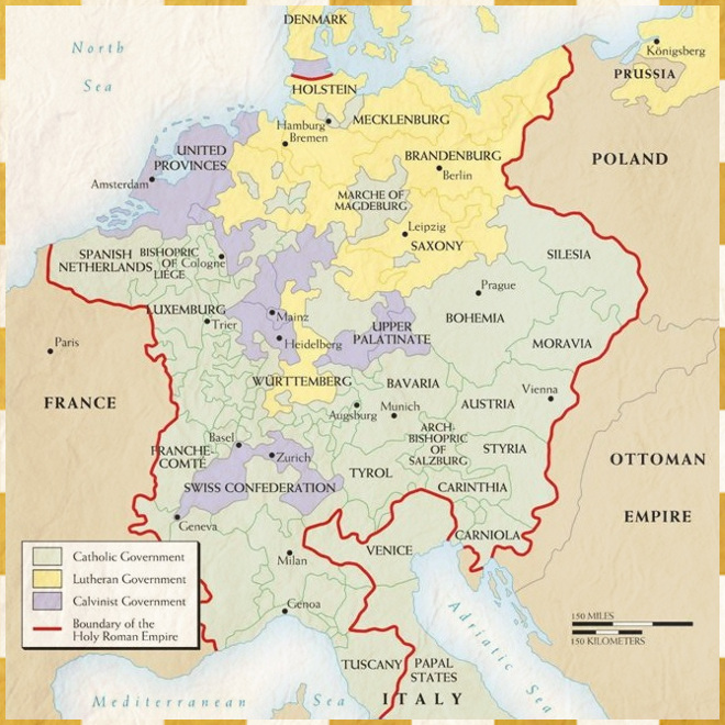 Map Of Germany 30 Years War.Thirty Years War Brief History Of The World Wiki Fandom