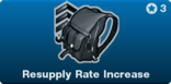 Resupply Rate Increase