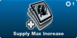 Supply Max Increase