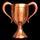 Bronze Trophy Icon