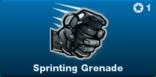 Sprinting Grenade