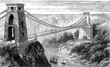 Suspension bridge at Clifton