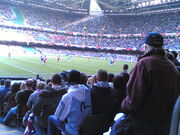 Millennium Stadium - during game