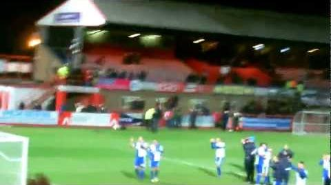 Rovers Late Equaliser (Ollie Norburn) And Ft Whistle VS Cheltenham 5 2 13
