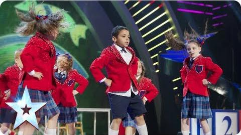 Pre-Skool rule the playground with their dance moves Final 2013 Britain's Got Talent 2013