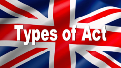 Types of Act