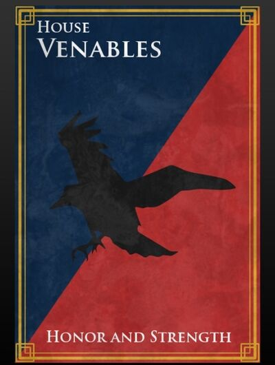 House of Venables Crest