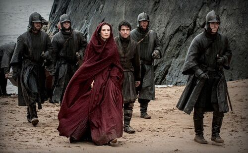 Melisandre and her Guards