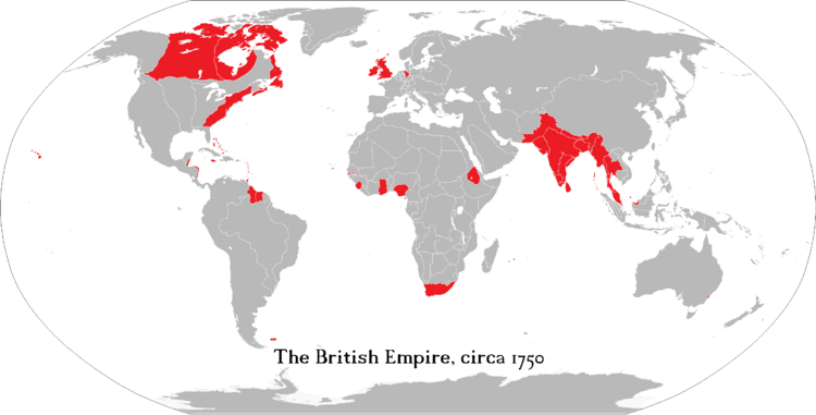 British Empire 1750 Edition