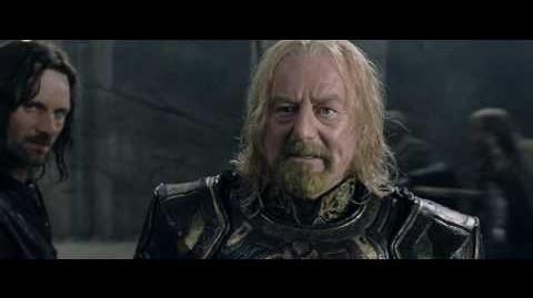 Battle of Hell's Deep Ishmael (Aragorn) and Matthew (King Theodan) Escape