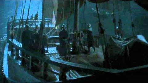 Decksteel' Fleet arriving at the Caribbean