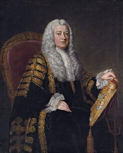 800px-Philip Yorke, 1st Earl of Hardwicke (1690-1764) by William Hoare of Bath
