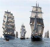 Ships Sailing Together