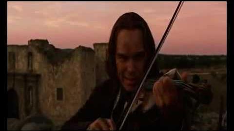 Ishamel Venables Playing Violin
