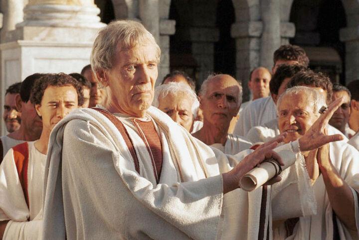 Rome Augustus hands