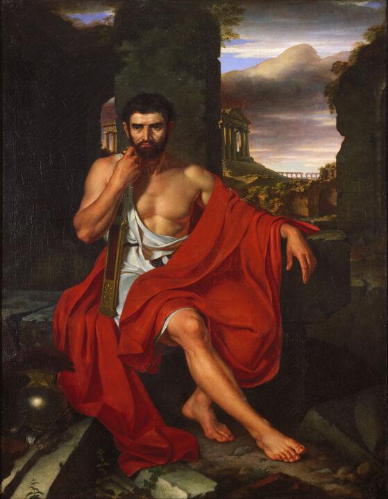 John Vanderlyn - Caius Marius Amid the Ruins of Carthage