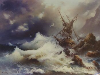 Eugene Garin Shipwreck Sea the Victory