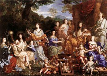 Jean Nocret - The Family of Louis XIV