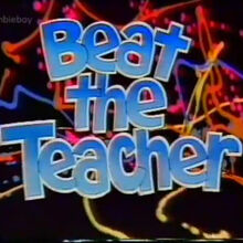 Beat the Teacher | British Game Show Wiki | Fandom