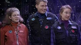 The Crystal Maze team gets 50 seconds in the dome