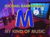 My kind of music title card