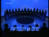 Fifteen to One Original