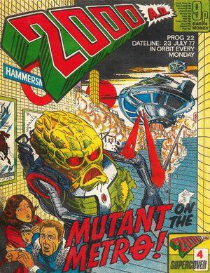 2000 AD prog 22 cover