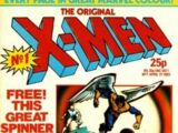 The Original X-Men Vol 1 1