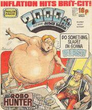 2000 AD prog 278 cover