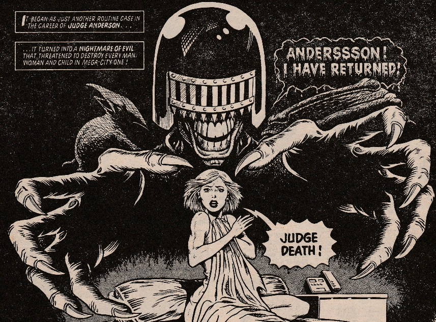 Judge Deathgallery Albion British Comics Database Wiki Fandom