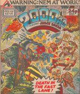 2000 AD prog 438 cover