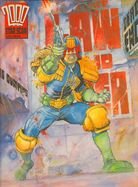 Judge Dredd star scan