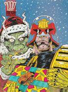 Festive Dredd by Jim McCarthy
