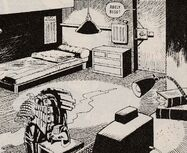 Judge Dredd's apartment