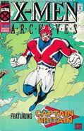 X-Men Archives Featuring Captain Britain