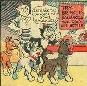 Korky the cat1940