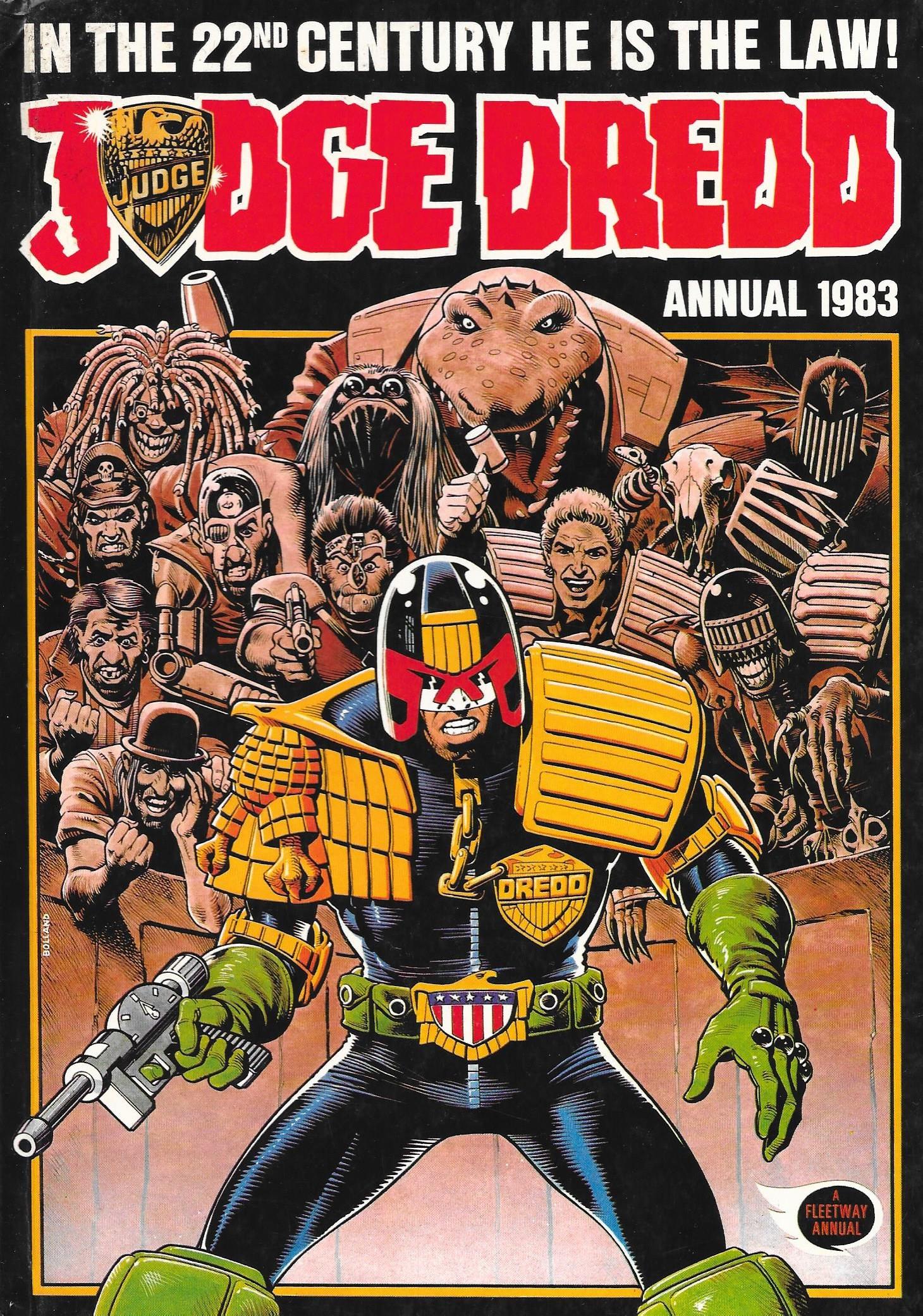 Judge Dredd Annual Vol 1 3 Albion British Comics