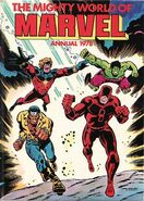 Mighty world of marvel annual 1978