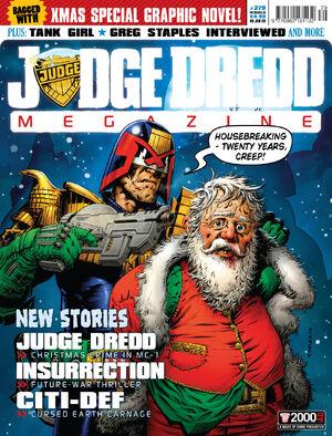 Judge Dredd Megazine 279 cover