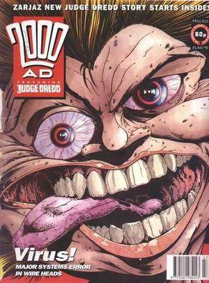 2000 AD prog 810 cover