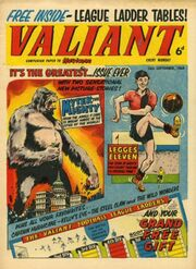 Valiant 1964 Comic